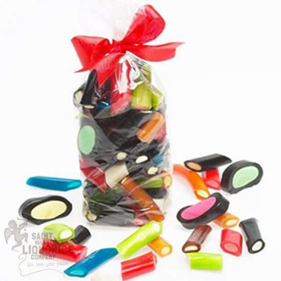 assorted mixed liquorice