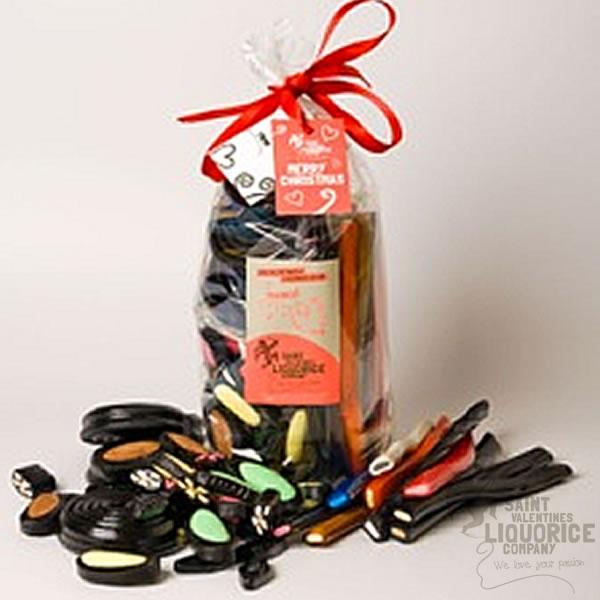 Liquorice Christmas gift packSaint Valentines Liquorice Company