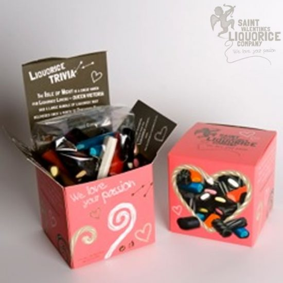 liquorice love box Saint Valentines Liquorice Company