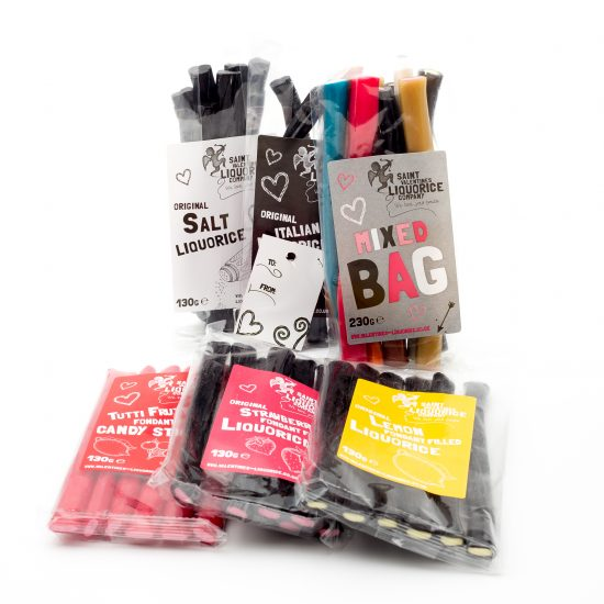 Liquorice Gift Bag Set from Saint Valentines Liquorice Co